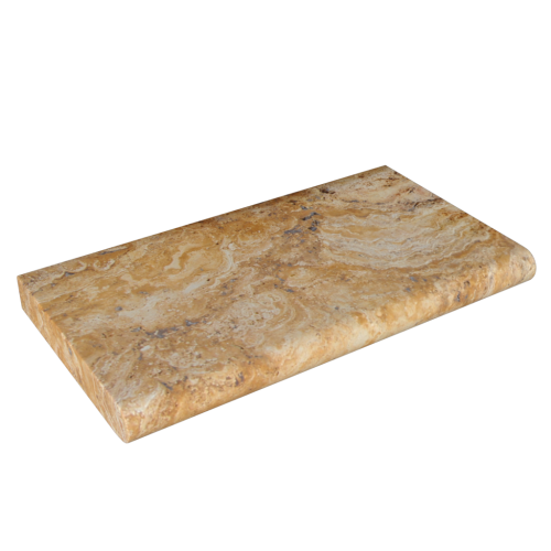 "Scabos Travertine 12""x24""x2'' Coping"
