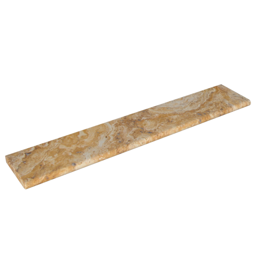 """Scabos Travertine 12""""x72""""x2'' Coping"""