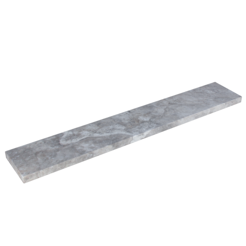 Silver Travertine 12x72x2'' Eased Edge Coping