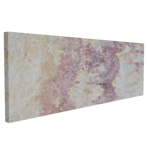 Travertine Stone Slabs : Afyon ice marble sandblasted mini slab pavertravertine