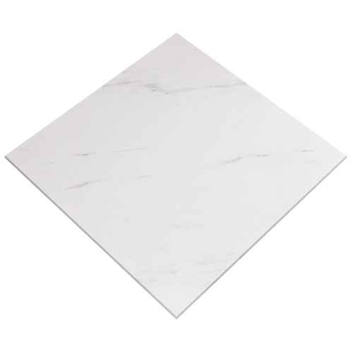 24''x24'' Carrara Polished Porcelain Tile