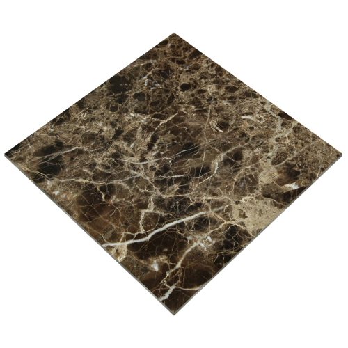 12''x12'' Emperador Dark Polished Marble Tile