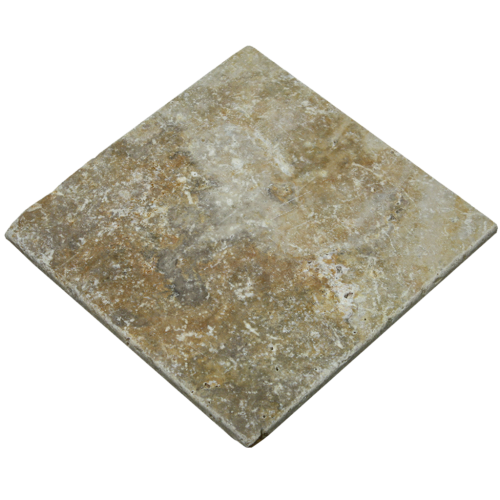 6''x6'' Mexican Tumbled Travertine Tile