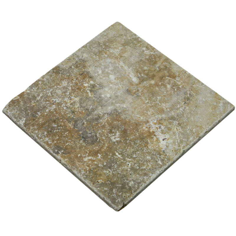 6x6 Mexican Tumbled Travertine Tile Pavertravertinecom