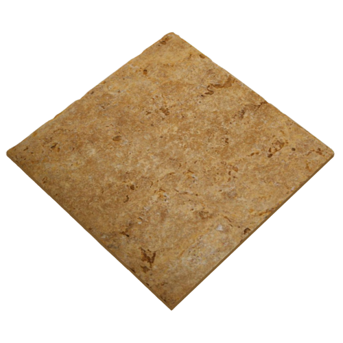 12''x12'' Yellow Travertine Tile