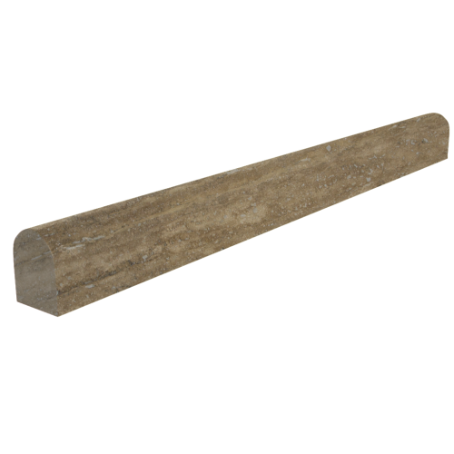Walnut Pencil Travertine Moulding