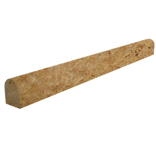 Yellow Pencil Travertine Moulding