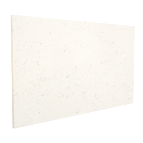 Cashmere White Polished Indoor Quartz Slab