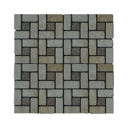 Earthstone Mm7 Travertine Mosaic