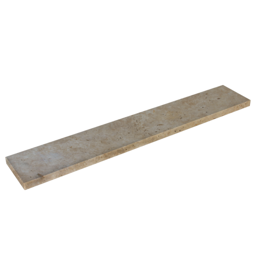 Walnut Travertine 12x72x2'' Eased Edge Coping