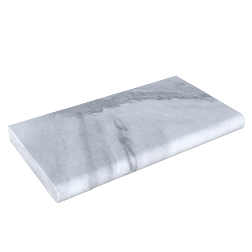 Rain Cloud Marble Sandblasted 12''x24''x2'' Poolcoping