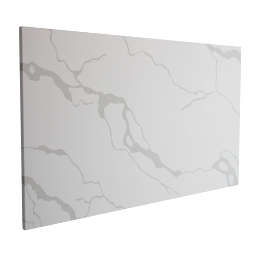 Calacatta White Polished Indoor Quartz Slab
