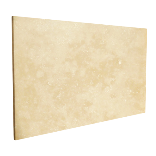 White Travertine Exterior Slab 2""