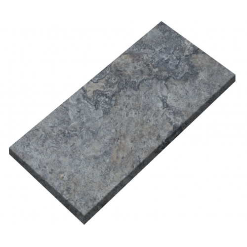 "Silver Travertine 16""x24"" Tumbled Paver"