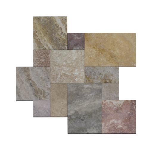 French Pattern Mexican Travertine Tile