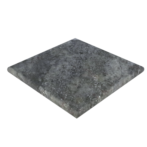 "Silver Travertine 24""x24""x2'' Pier Cap"