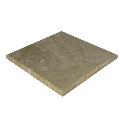 "Ivory Travertine 24""x24""x2'' Pier Cap"