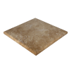 "Walnut Travertine 24""x24""x2'' Pier Cap"