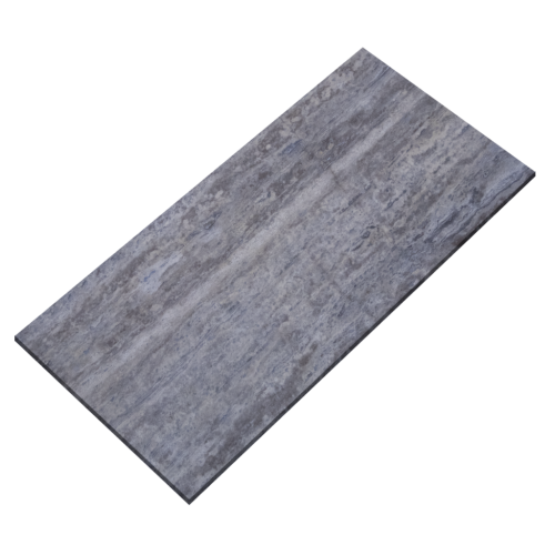 12''x24'' Silver Veincut Honed Travertine Tile
